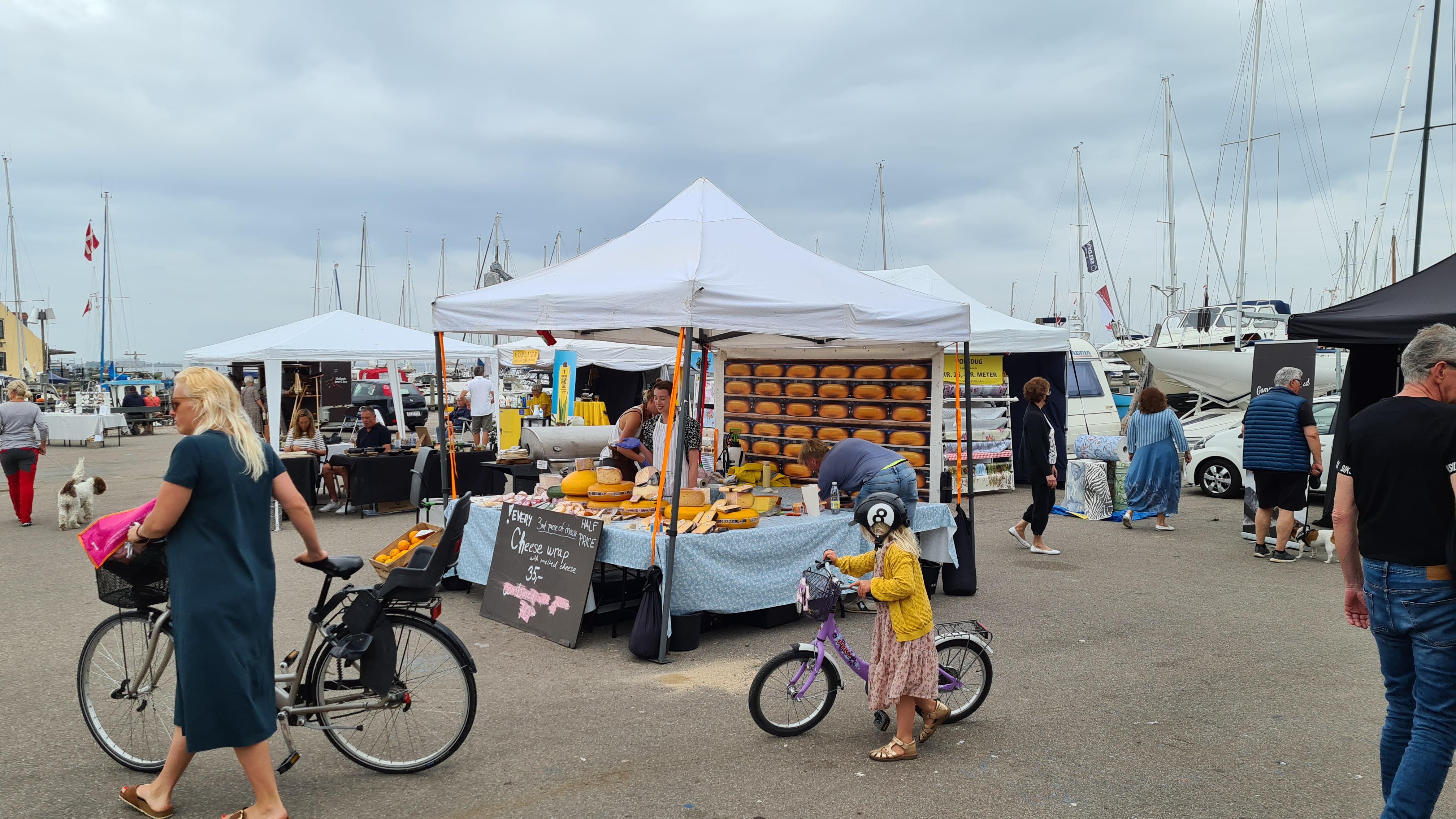 Öresundsmarkedet på Dragør Havn 6-8 august 2021