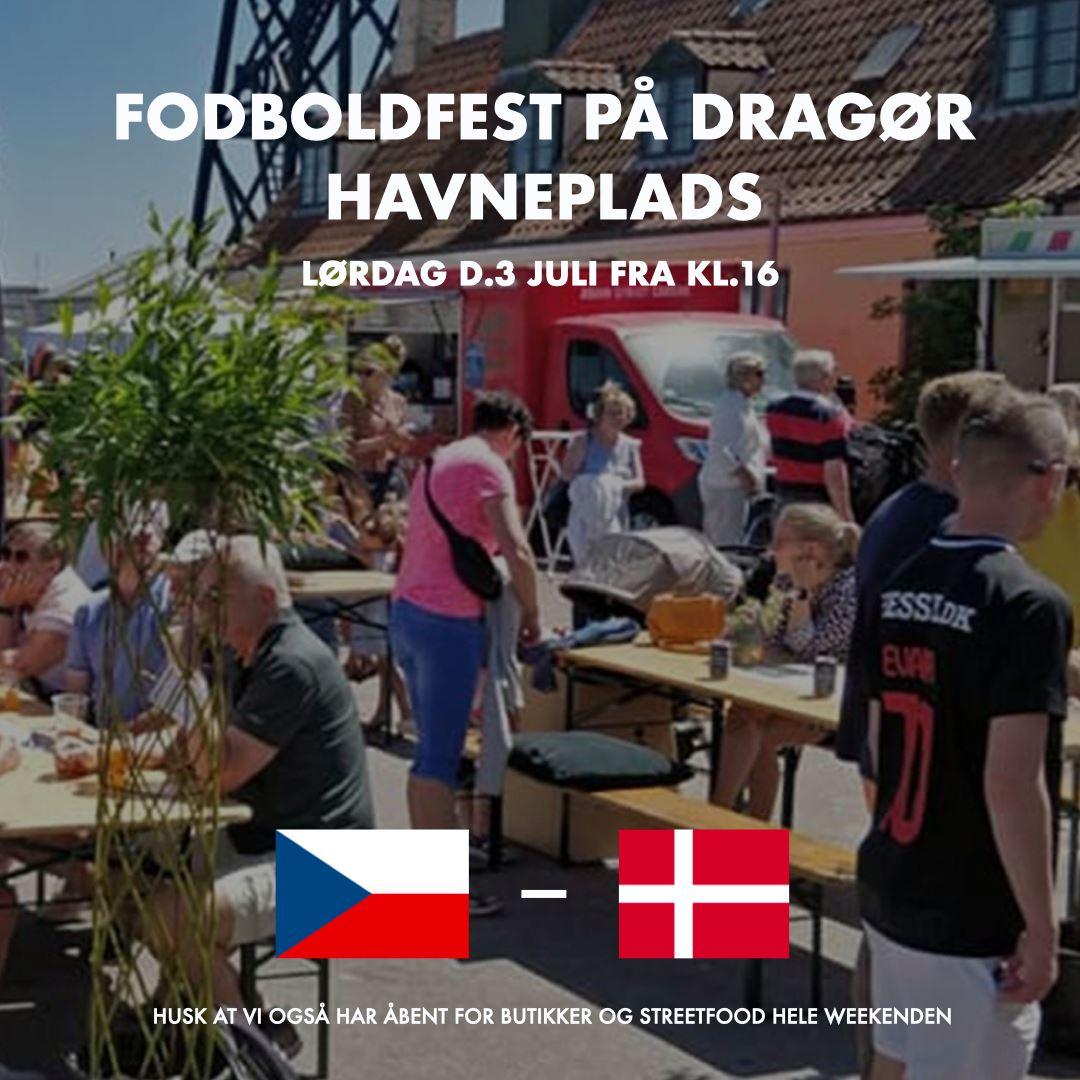 FODBOLDFEST PÅ HAVNEPLADSEN LØRDAG 3/7-2021